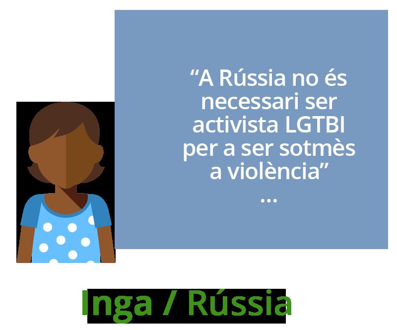 A Rússia no és necessari ser LGBT activista per a ser sotmès a violència